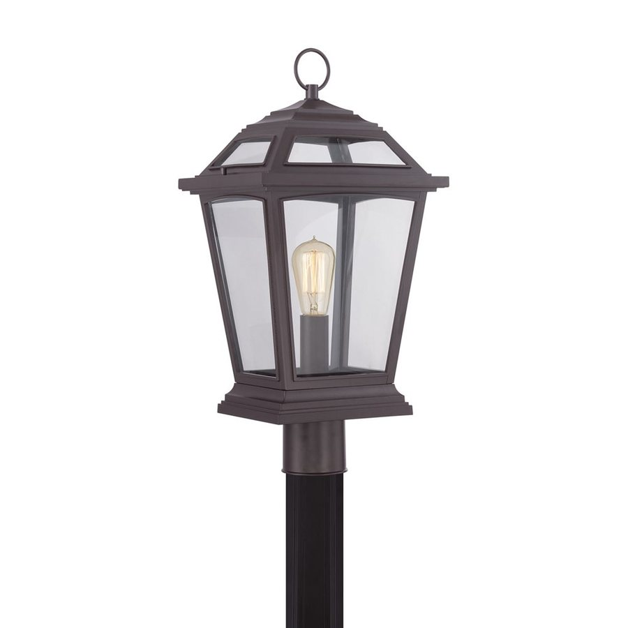 Quoizel Ridge 22-in H Western Bronze Post Light