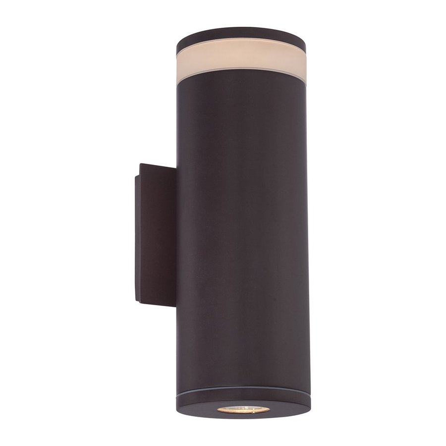 Quoizel Cole Led 13-in H Led Western Bronze Outdoor Wall Light