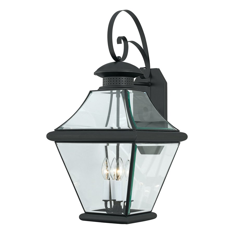 Quoizel Rutledge 29-in H Mystic Black Outdoor Wall Light