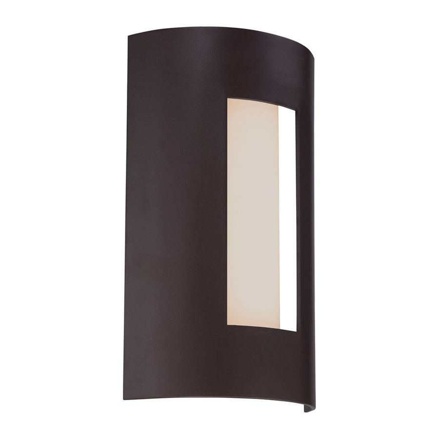 Quoizel Ryland 13-in H Led Western Bronze Outdoor Wall Light