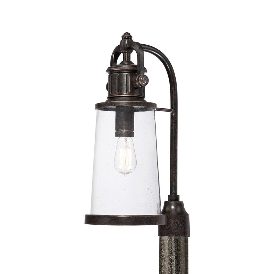 Quoizel Steadman 20.5-in H Imperial Bronze Post Light