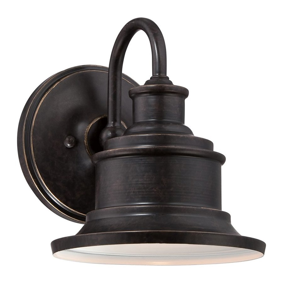 Quoizel Seaford 8.5-in H Imperial Bronze Outdoor Wall Light