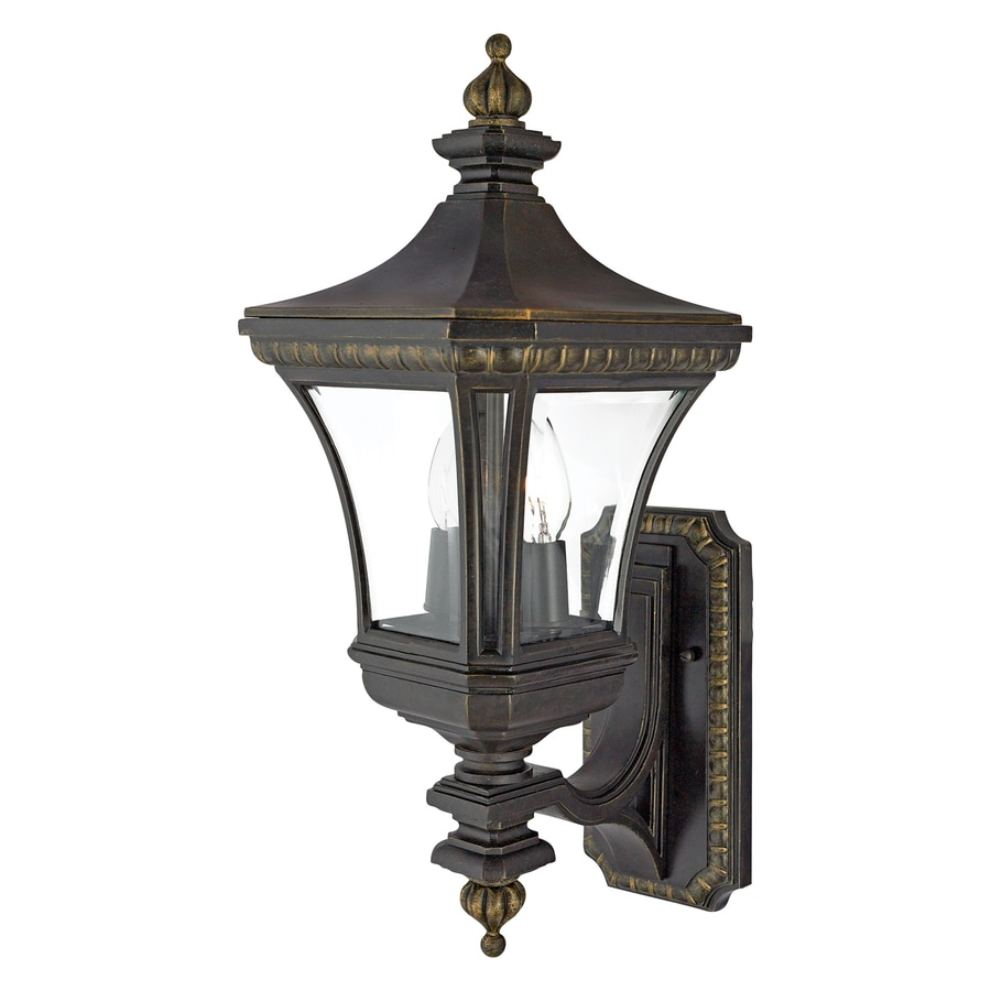 Quoizel Devon 21-in H Imperial Bronze Candelabra Base (E-12) Outdoor Wall Light