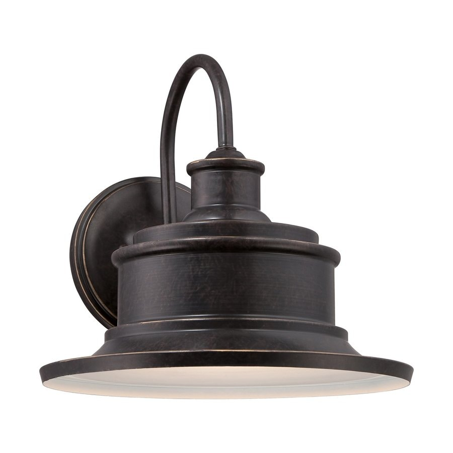 Quoizel Seaford 9-in H Imperial Bronze Outdoor Wall Light