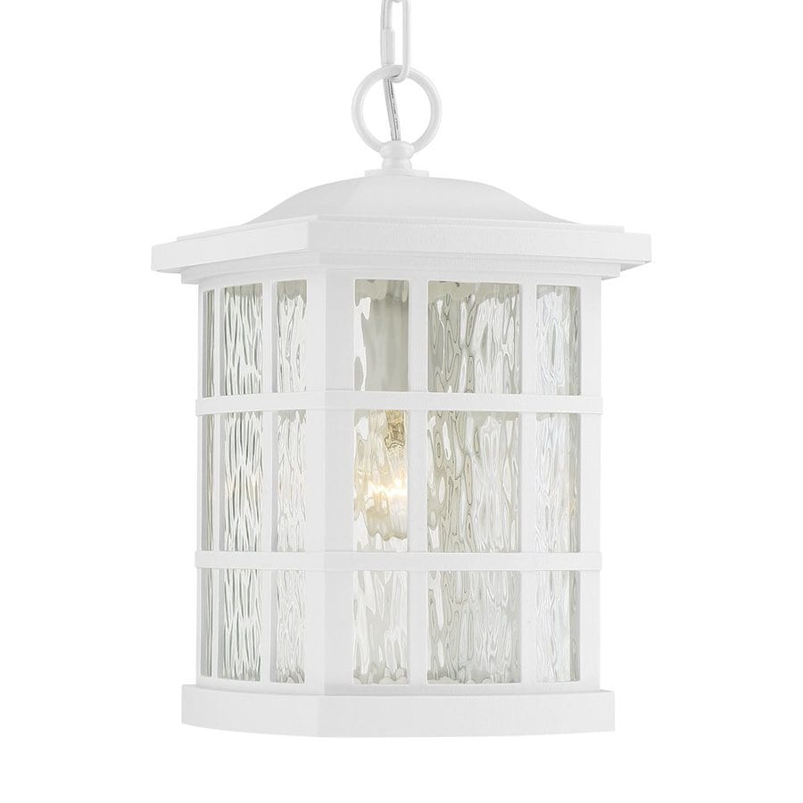 Quoizel Stonington 15-in Fresco Outdoor Pendant Light