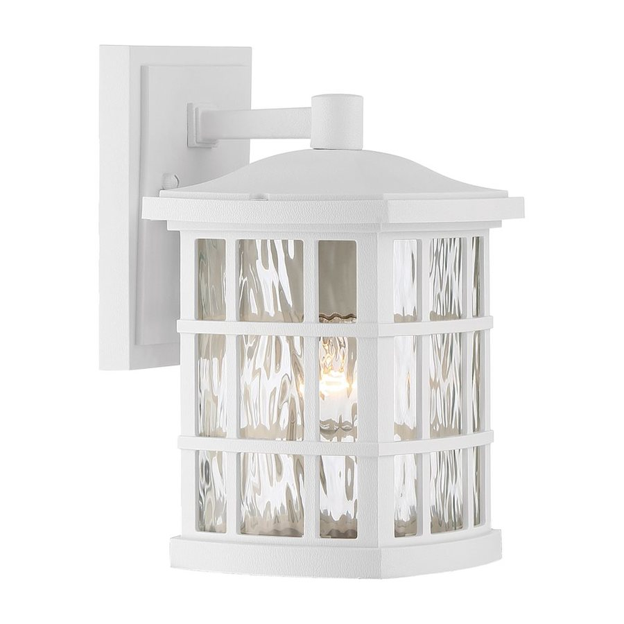 Quoizel Stonington 10.5-in H Fresco Outdoor Wall Light
