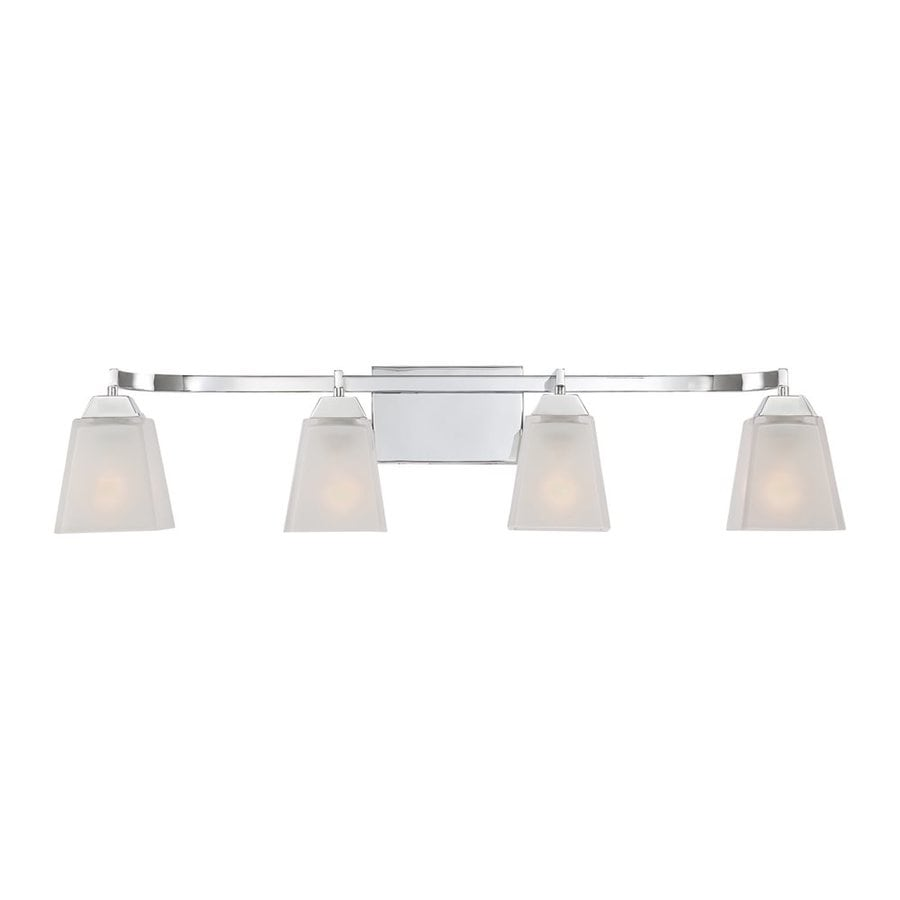 Quoizel Loft 4-Light Polished Chrome Square Vanity Light