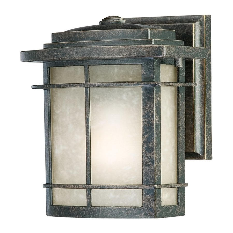 Quoizel Galen 7.5-in H Imperial Bronze Outdoor Wall Light