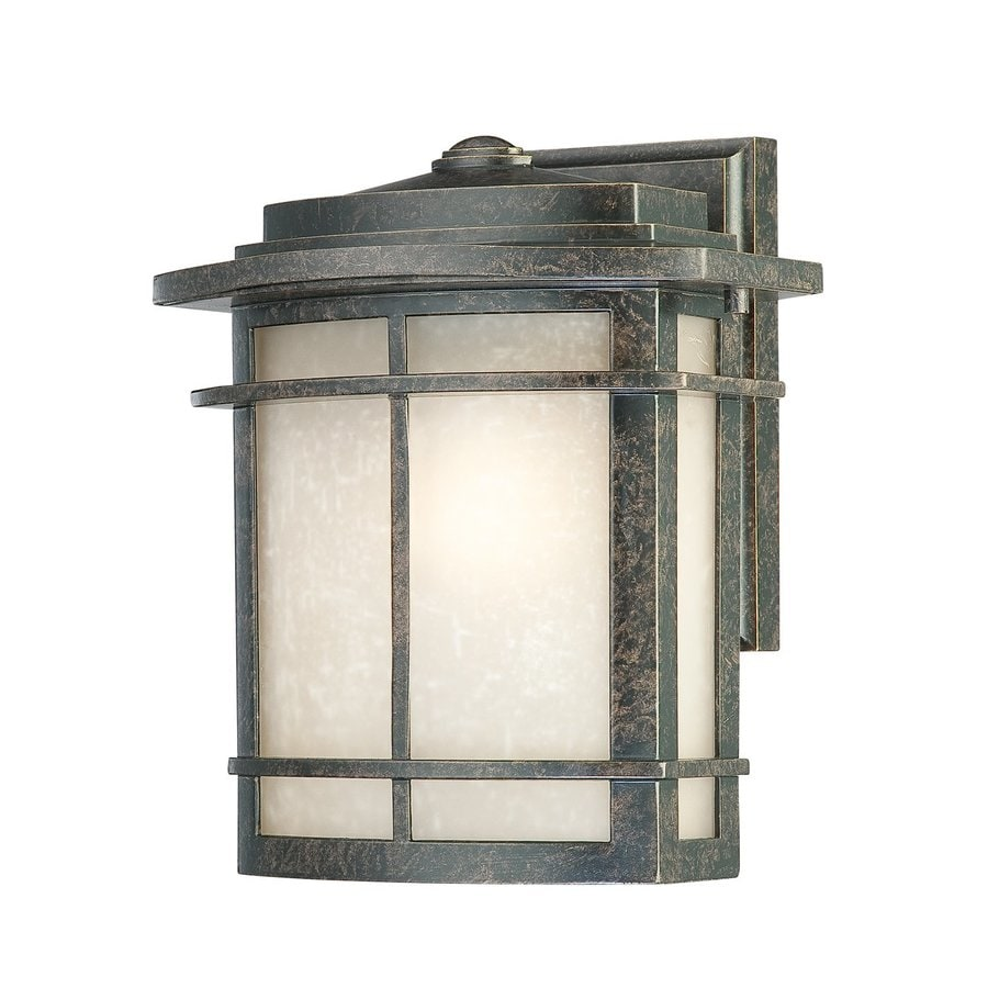Quoizel Galen 10-in H Imperial Bronze Outdoor Wall Light