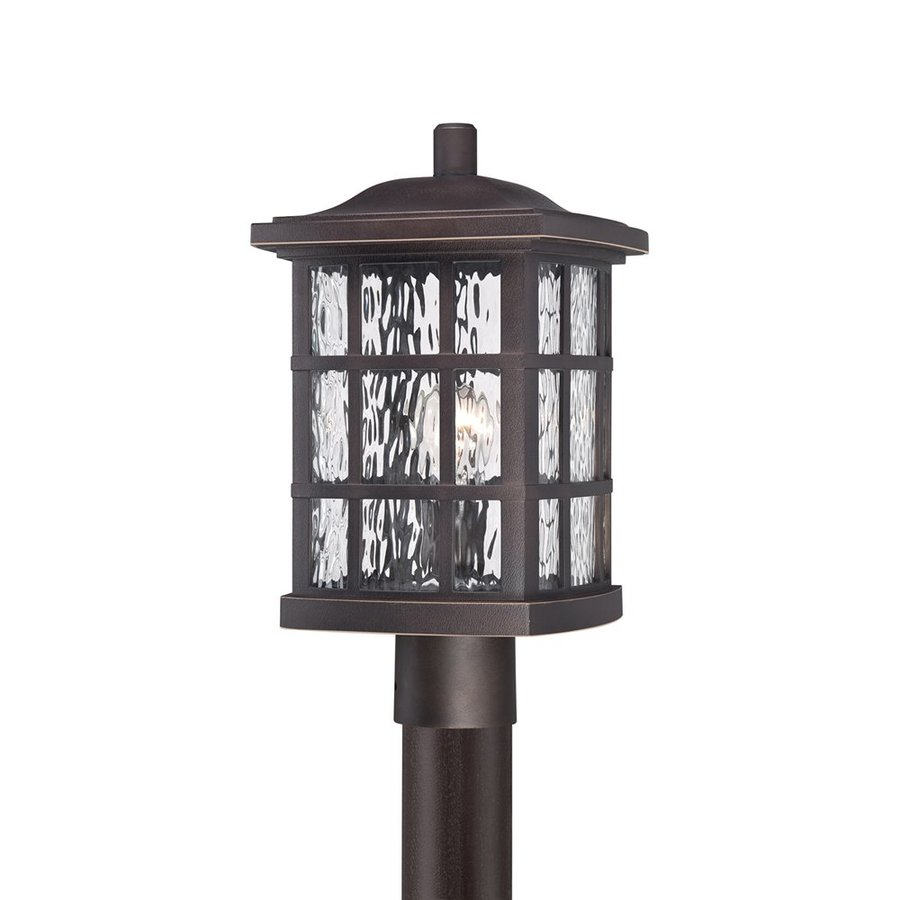 Quoizel Stonington 16.5-in H Palladian Bronze Post Light