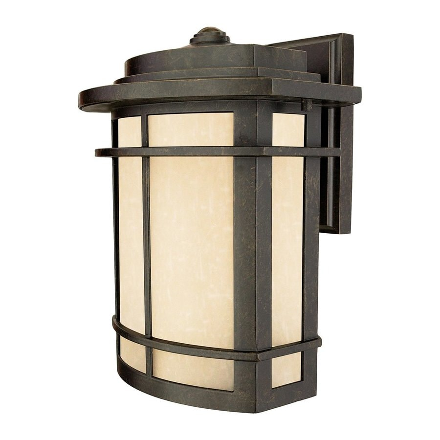 Quoizel Galen 12-in H Imperial Bronze Outdoor Wall Light