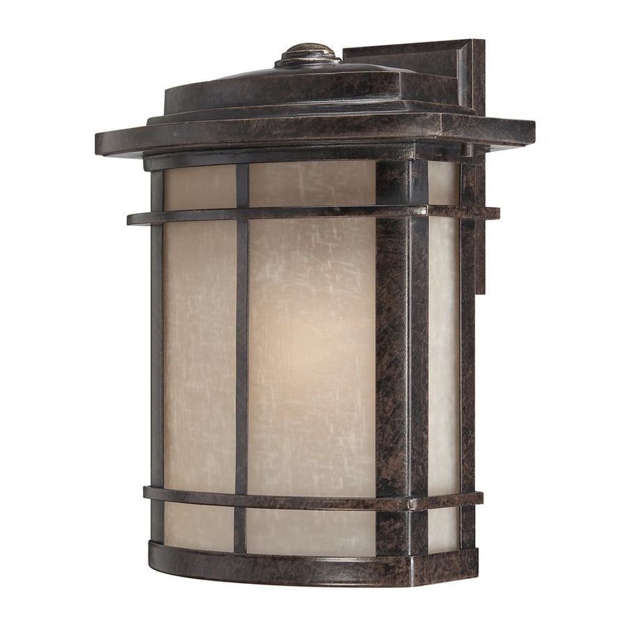Quoizel Galen 14.5-in H Imperial Bronze Outdoor Wall Light