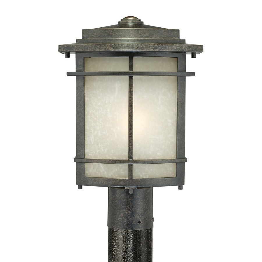 Shop Quoizel Galen 15 In H Imperial Bronze Post Light At