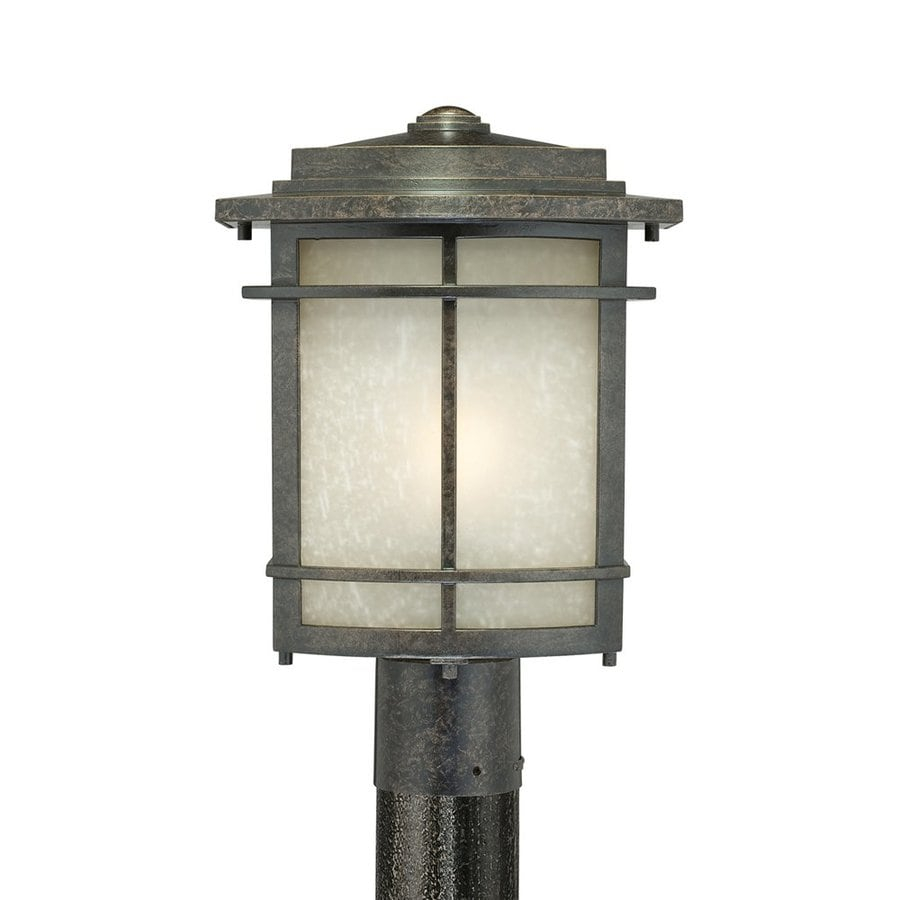 Quoizel Galen 15-in H Imperial Bronze Post Light