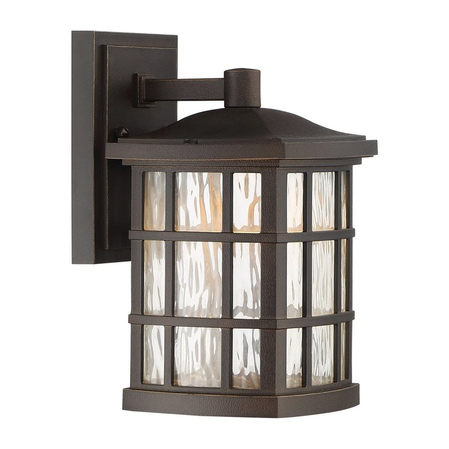 Quoizel Stonington 10.5-in H Palladian Bronze LED Outdoor Wall Light