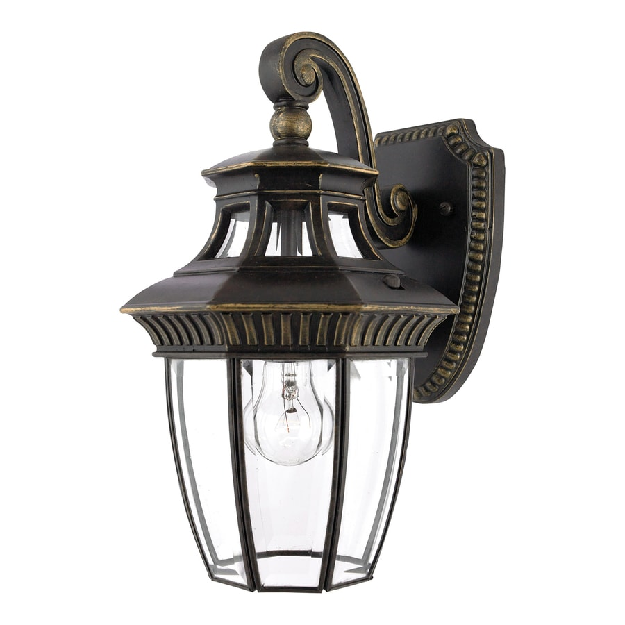 Quoizel Georgetown 13-in H Imperial Bronze Medium Base (E26) Outdoor Wall Light