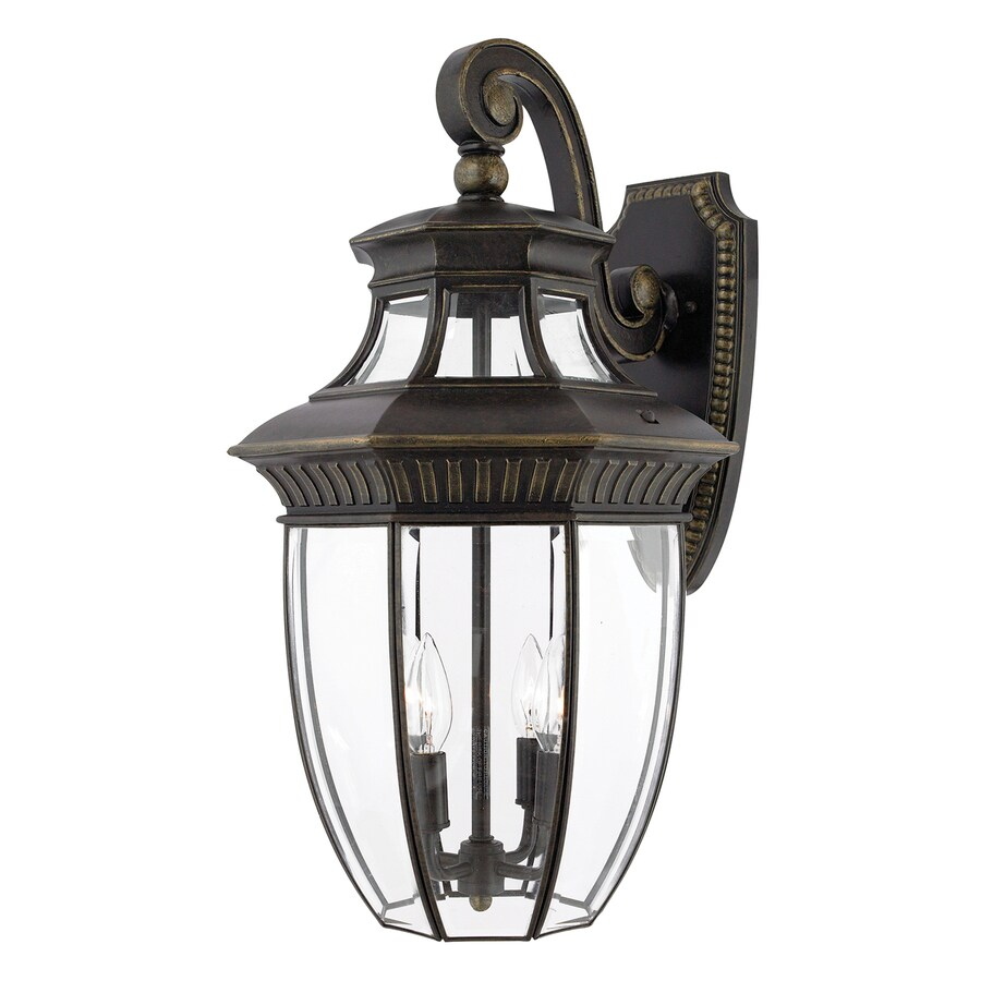 Quoizel Georgetown 24-in H Imperial Bronze Outdoor Wall Light