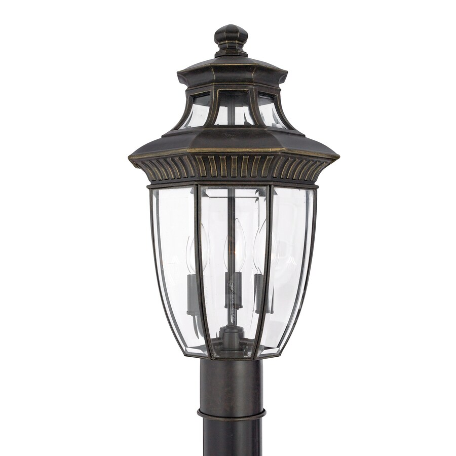 Quoizel Georgetown 19-in H Imperial Bronze Post Light
