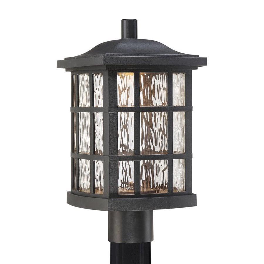 Quoizel Stonington 16.5-in H Mystic Black LED Post Light