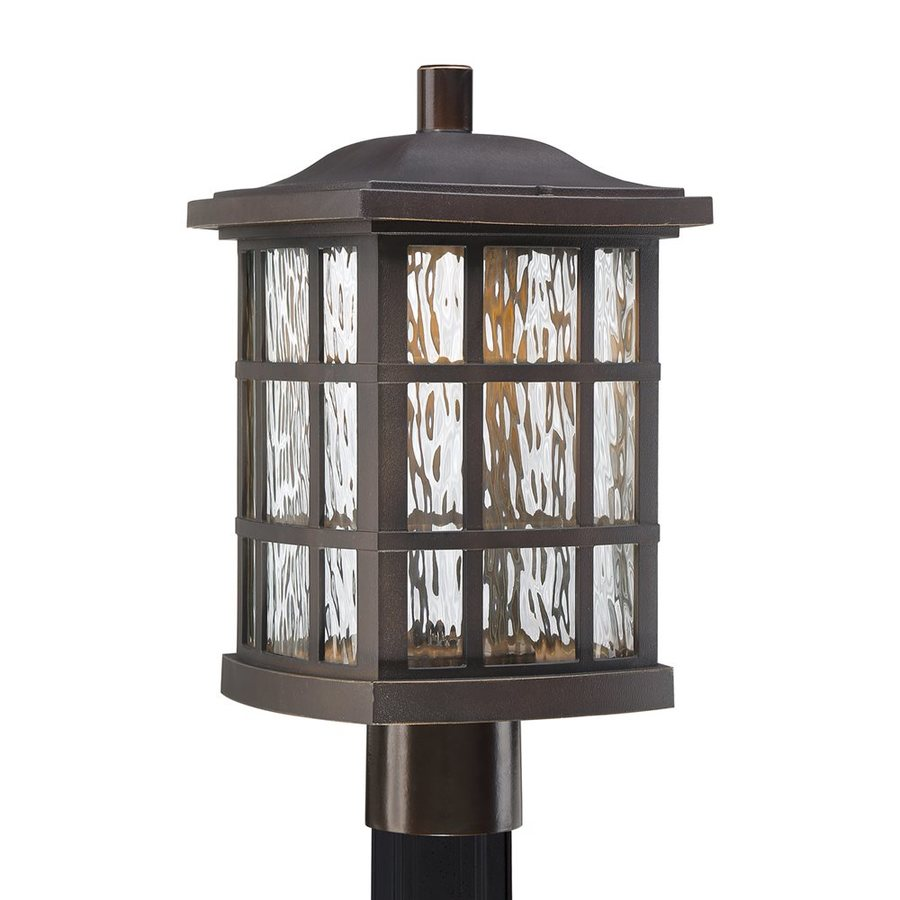 Quoizel Stonington 16.5-in H Palladian Bronze LED Post Light