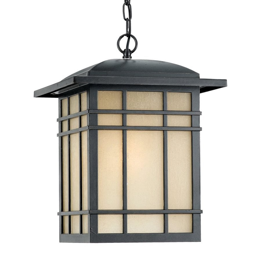 Quoizel Hillcrest 13-in Imperial Bronze Outdoor Pendant Light