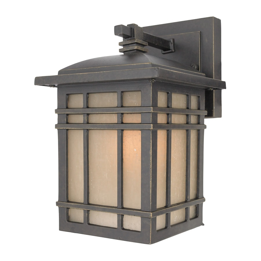 Quoizel Hillcrest 9-in H Imperial Bronze Outdoor Wall Light