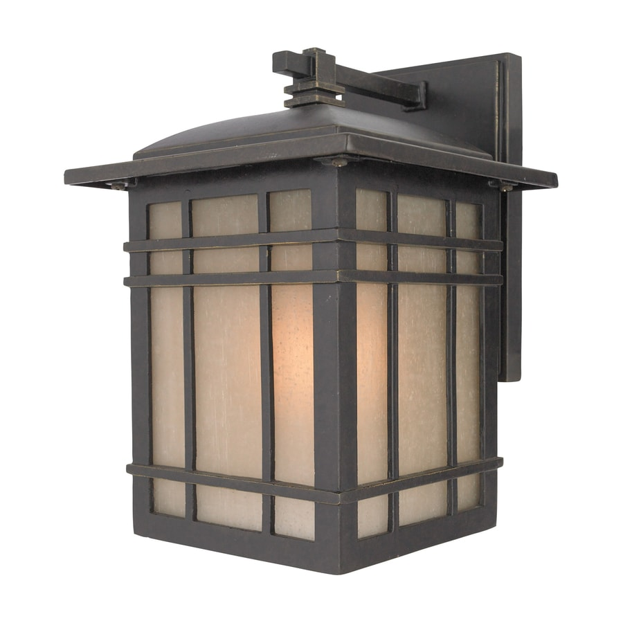 Quoizel Hillcrest 10-in H Imperial Bronze Outdoor Wall Light