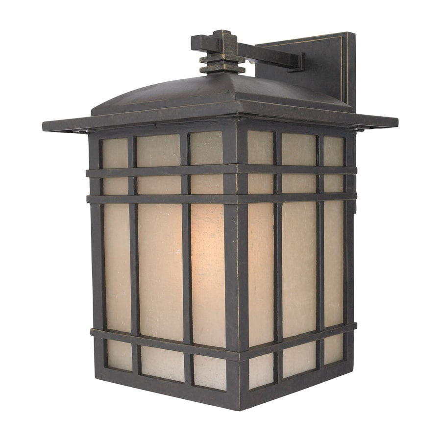 Quoizel Hillcrest 12.75-in H Imperial Bronze Outdoor Wall Light
