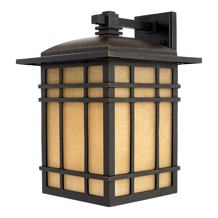 Quoizel Hillcrest 15.5-in H Imperial Bronze Medium Base (E26) Outdoor Wall Light