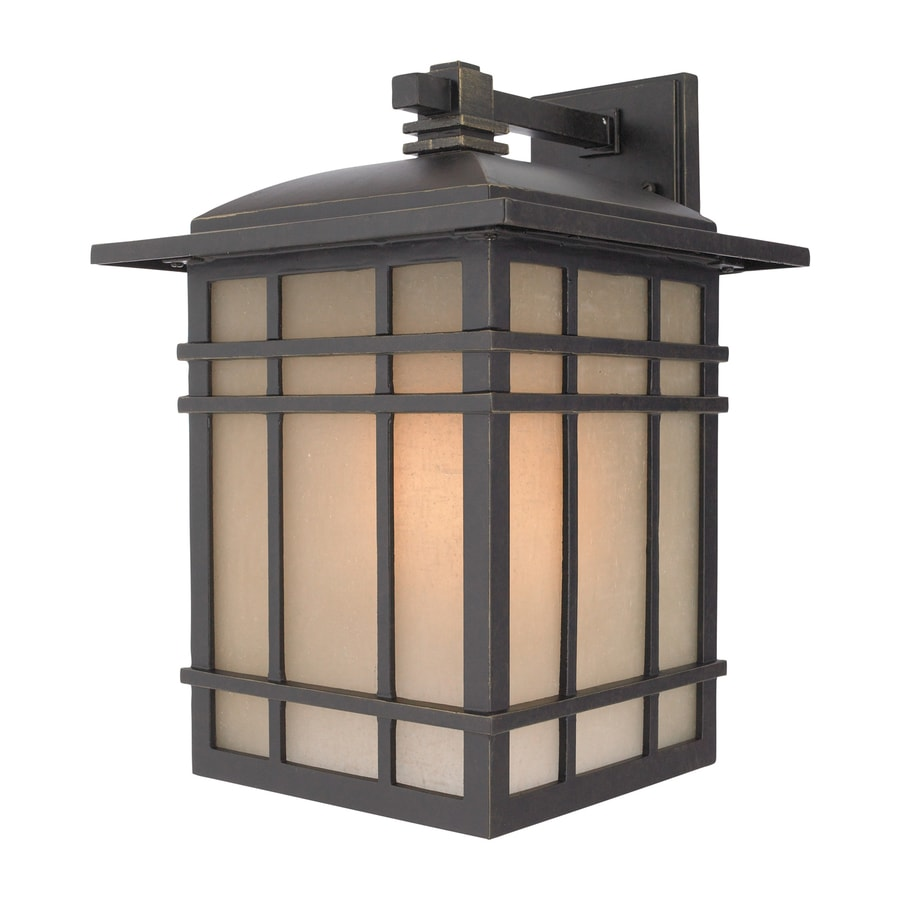 Quoizel Hillcrest 15.5-in H Imperial Bronze Outdoor Wall Light