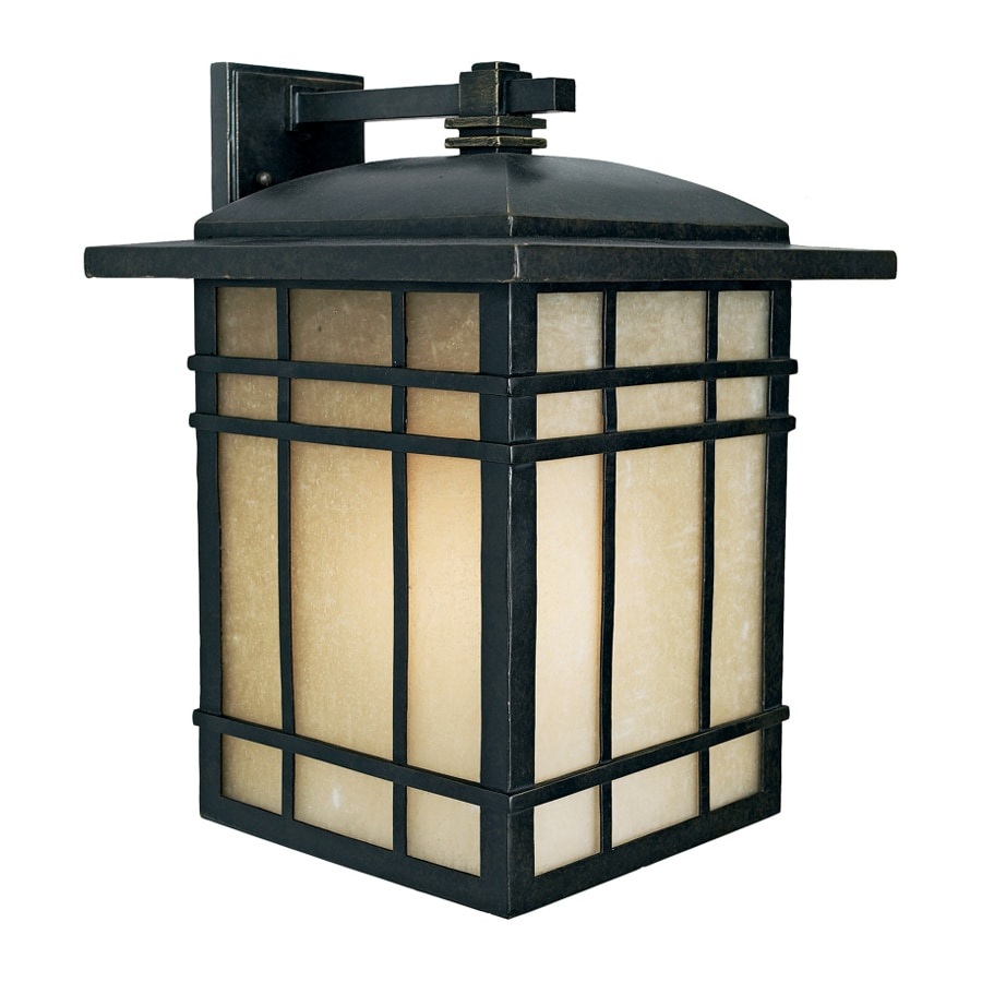 Quoizel Hillcrest 17.25-in H Imperial Bronze Outdoor Wall Light