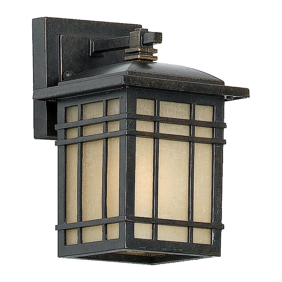 Shop Quoizel Hillcrest 9 In H Imperial Bronze Outdoor Wall Light At