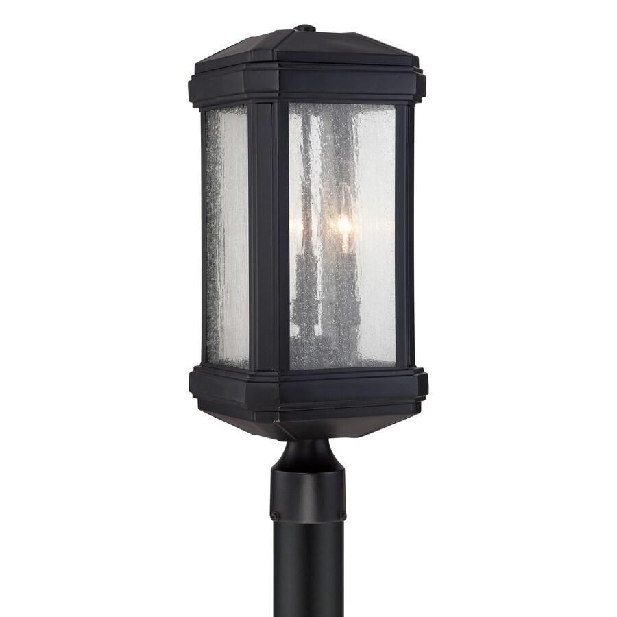 Quoizel Trumbull 21.5-in H Mystic Black Post Light