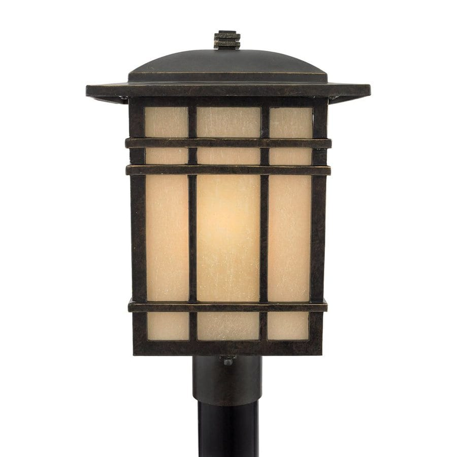 Quoizel Hillcrest 18-in H Imperial Bronze Post Light