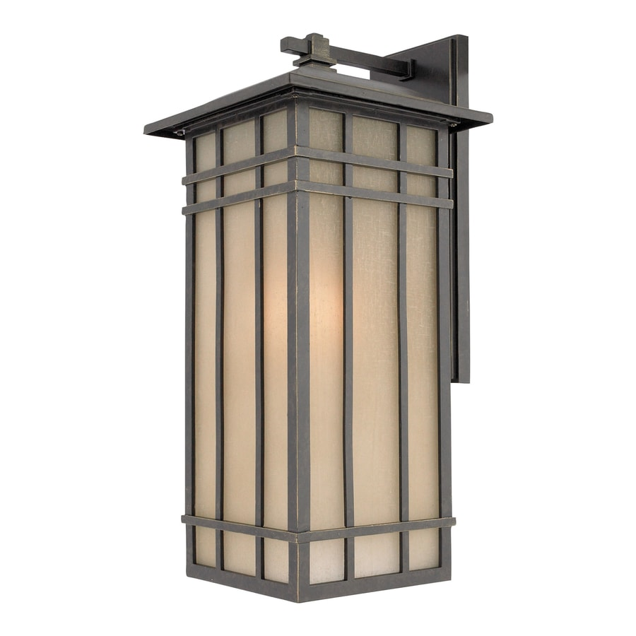 Shop Quoizel Hillcrest 20 In H Imperial Bronze Outdoor Wall Light At