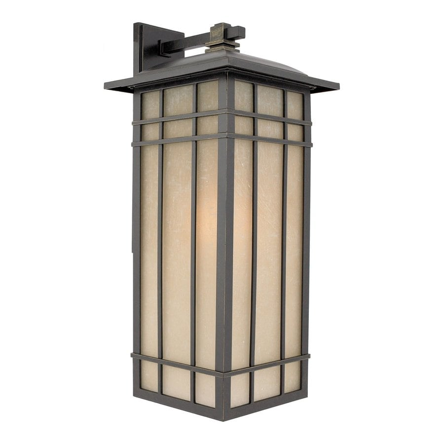 Quoizel Hillcrest 25.25-in H Imperial Bronze Outdoor Wall Light