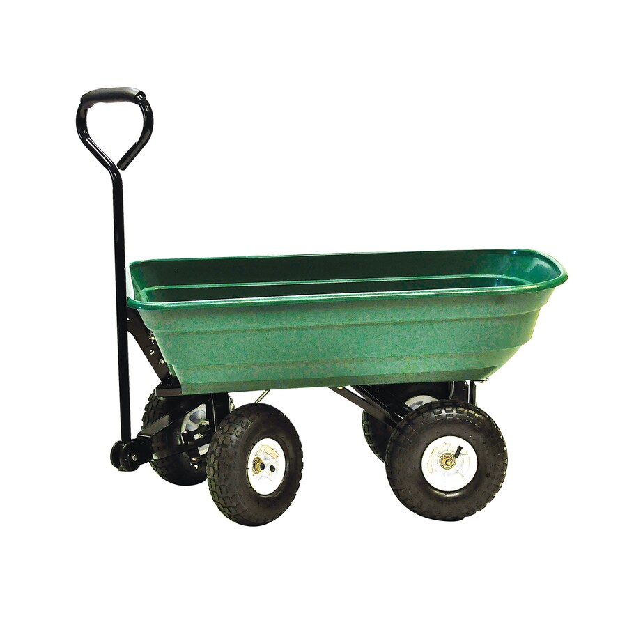 Superieur Precision Products 4 Cu Ft Steel Yard Cart