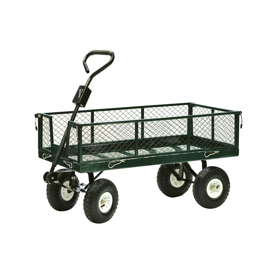 Shop Precision Products 4 Cu Ft Steel Yard Cart At Lowes Com