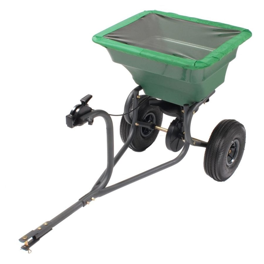 Precision Products 75-lb Capacity Tow-Behind Lawn Spreader