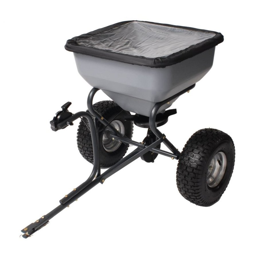 Precision Products 130-lb Capacity Tow-Behind Lawn Spreader
