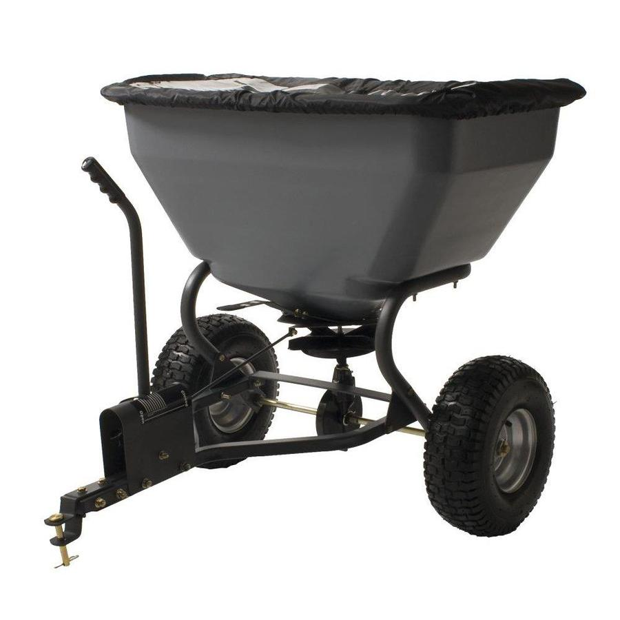 Precision Products 200-lb Capacity Tow-Behind Lawn Spreader