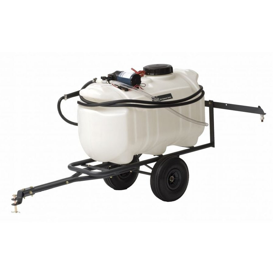 Precision Products 25-Gallon Plastic Tank Sprayer