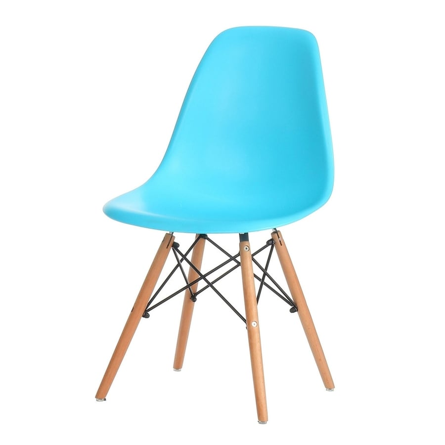 PoliVaz Eames Blue Accent Chair