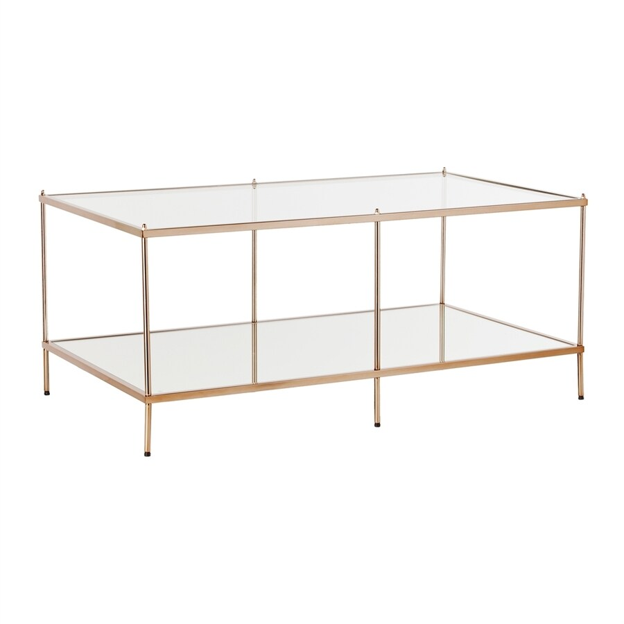 Boston Loft Furnishings Kili Clear Glass Coffee Table