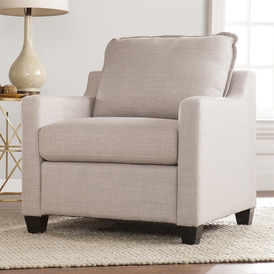 Boston Loft Furnishings Allenbourn Gray Polyester Club Chair