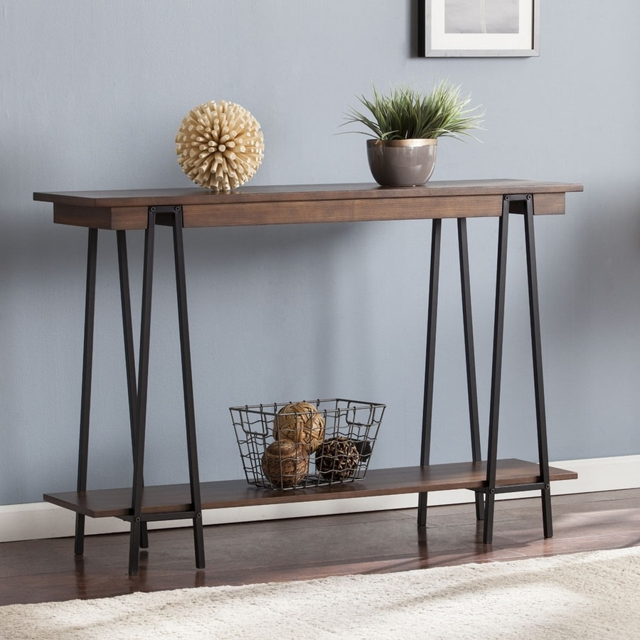 Boston Loft Furnishings Yarman Dark Composite Console Table