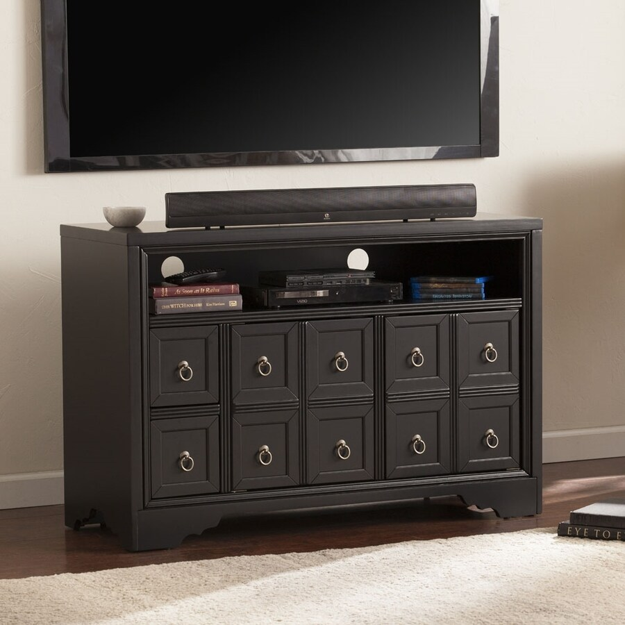 Boston Loft Furnishings Reptar Black TV Cabinet