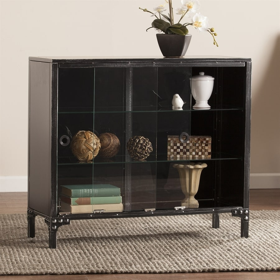 Boston Loft Furnishings Dominick Black Rectangular Sideboard