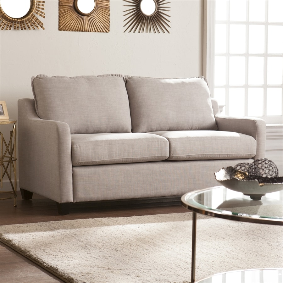 Boston Loft Furnishings Allenbourn Cool Gray Stationary Loveseat