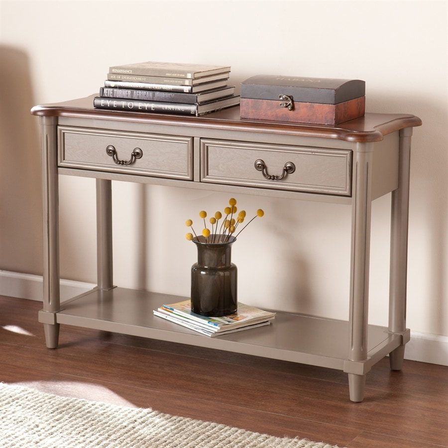 Boston Loft Furnishings Daymon Poplar Sofa Table